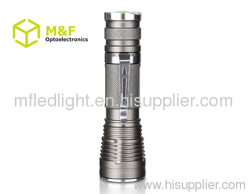 Aluminum high power Cree XRE Q5 led hand light