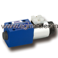 Rexroth 4WE6D6X, 4WE6C6X, 4WE6A6X, 4WE6B6X, 4WE6Y6X, Single Solenoid Directional Control Valve
