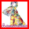 2013 New Designer European Sunflower Infinity Mulberry Silk Scarf China