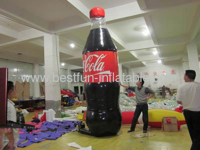 Huge Pvc Inflatable Cocacola Bottle