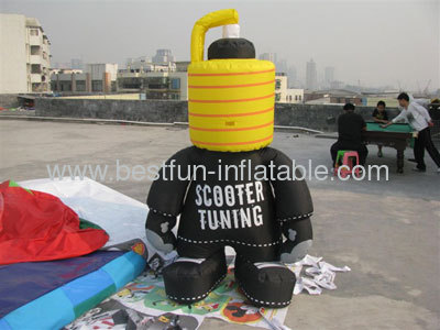 Inflatable Scooter Tuning Figure