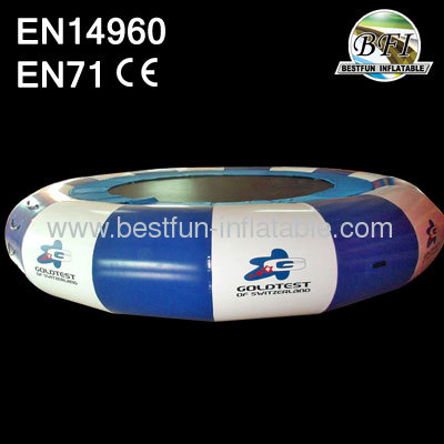 2014 New Design Inflatable Water Trampoline