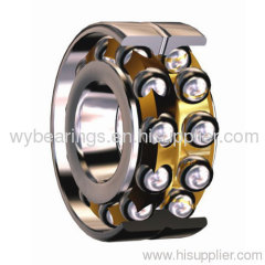 Double-row angular contact ball bearing for steel mill
