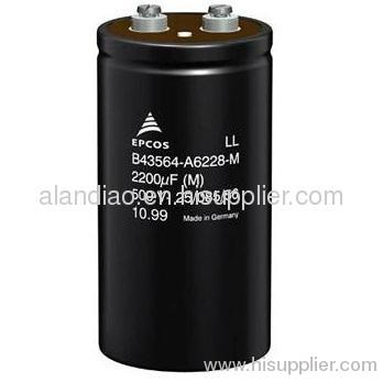 Large Can Aluminum Electrolytic Capacitor B41458B4229M SCREW Terminal 22000UF 16V
