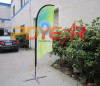 Dye sublimation printing advertising flags