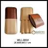 3 CT Montecristo Travel Leather Cigar Case/Holder for Sale