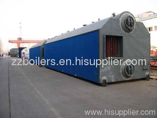 SZL Series Shop Assemble Traveling Grate Boiler