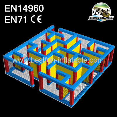33' Giant Inflatable Maze