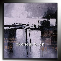 2012 New arrival abstract oil painting for home decor