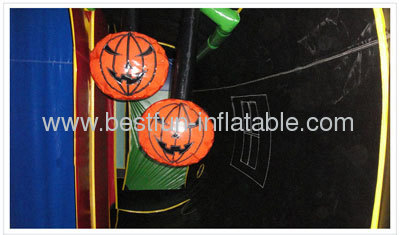 Haunted House Inflatable Tunnel Maze