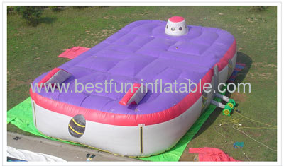 Inflatable Sports Game Lazer Invader