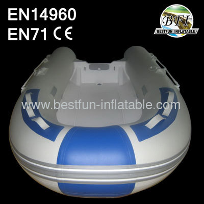 Small PVC Inflatable Fishing Boat Rubber Rowing Boat