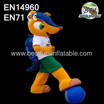 Mascot Costume of The 2014 FIFA World Cup Brazil