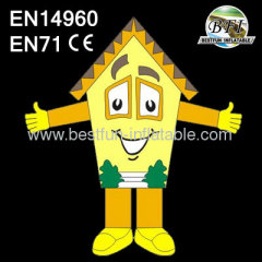 2014 New Design Advertising House Character