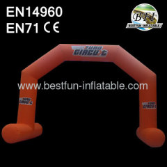 Orange 2014 New Advertising Promotional Inflatable Arch Door