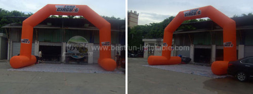 Orange 2013 New Advertising Promotional Inflatable Arch Door