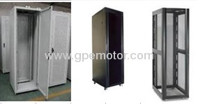 Flooring standing network server cabinet EC Cooling Fan with electronic and speed control