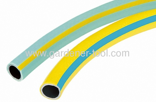 3-Layer Reinforced PVC Garden Hose With Stripe