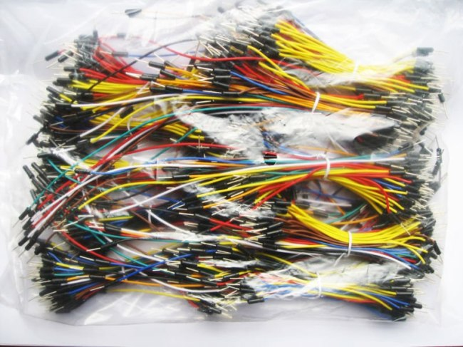 solderless breadboard male jumper wire