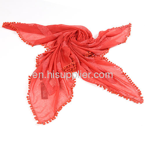 Wholesale Infinity Red Square Scarf Head Wrap For Women