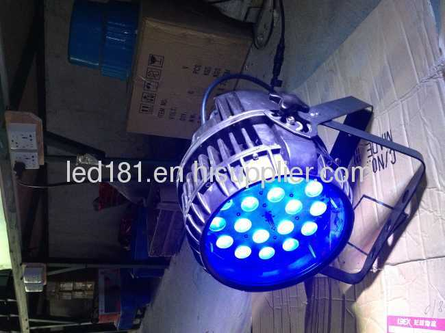 Zoom led 18x10w waterproof par light