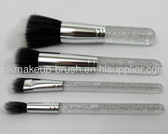 Brand New Cosmetics MAKE IT PERFECT 4pcs Brush Set with case