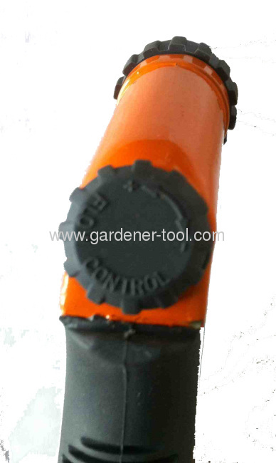 Zinc 2-function Garden Water Hose Nozzle With Valve