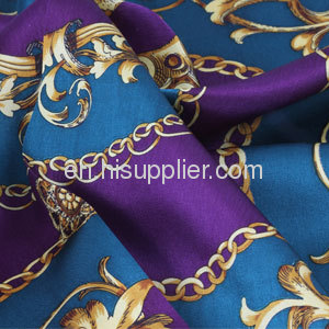 Wholeslae Vintage Design Printed Real Square Silk Scarf China