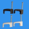 Plastic Flat Cable Nail Clip
