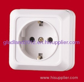 1 gang wall socket 16A