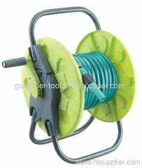 Plastic portable garden hose reel With Hose