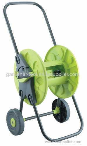 Garden Folded Hose Reel Cart For 45M Hose