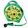 Garden Flat Hose Reel With Hose Pipe