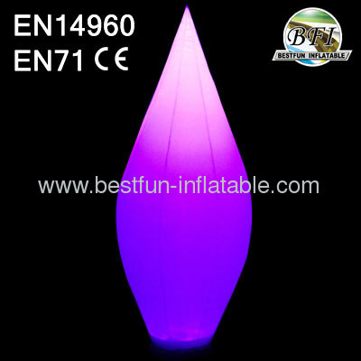Party Decoration Inflatable Lighting Water Droplet