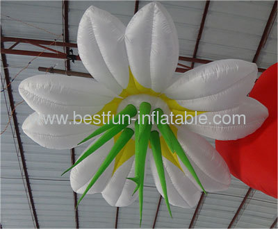 Huge Lighted Inflatable Flower