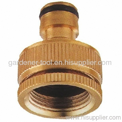 "Brass 1/2""&3/4"" Female Threaded Tap Connector"