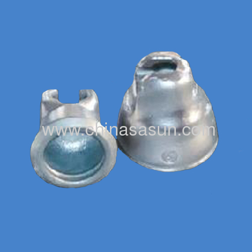 steel cap for porcelain insulator