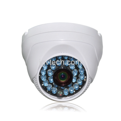 1/3 CMOS 600TVL High-Resolution Mini Plastic Dome Camera