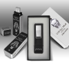 newest design Cigarette lighter classical gift set