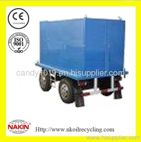 Series ZYM mobile insulating oil purifier