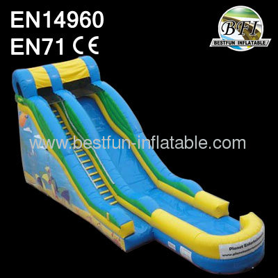 17' Inflatable Wet Slide For Sale