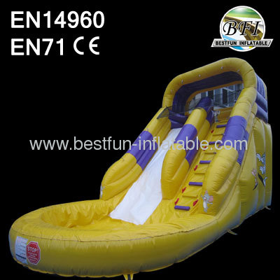 18' Inflatable Wet Slide Games