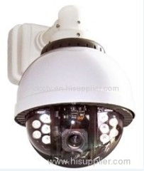 Outdoor IR CCTV High Speed Security Dome Camera with PTZ