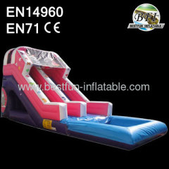 Princess Bumper Detachable Pool Inflatable Wet Or Dry Slide