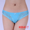 Hot lace trim cozy cotton hipster lady's sexy stock underwear
