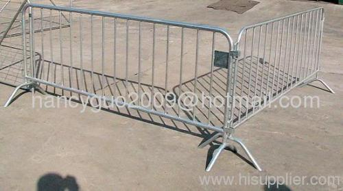 Galvanized steel tube temporary fence/ tube pool temporary fence/crowd temporary fence