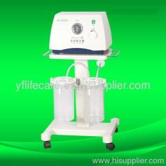 Medical suction machine apparatus pump