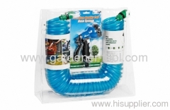 EVA garden coil hose double blister package