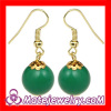 Handmade Women's Accessories J Crew Style Emerald Drop Earrings