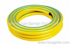 3-Layer Reinforced PVC Garden Water Hose With Stripe